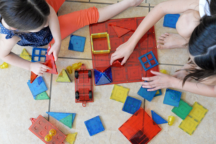 Magnetic Building Blocks - A Fun & Educational Toy